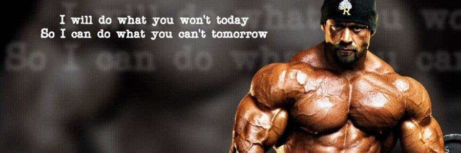 Bodybuilding Motivation Quote