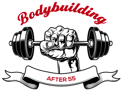 Bodybuilding After 55 Logo